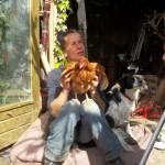 Norma met kip en Fabio
