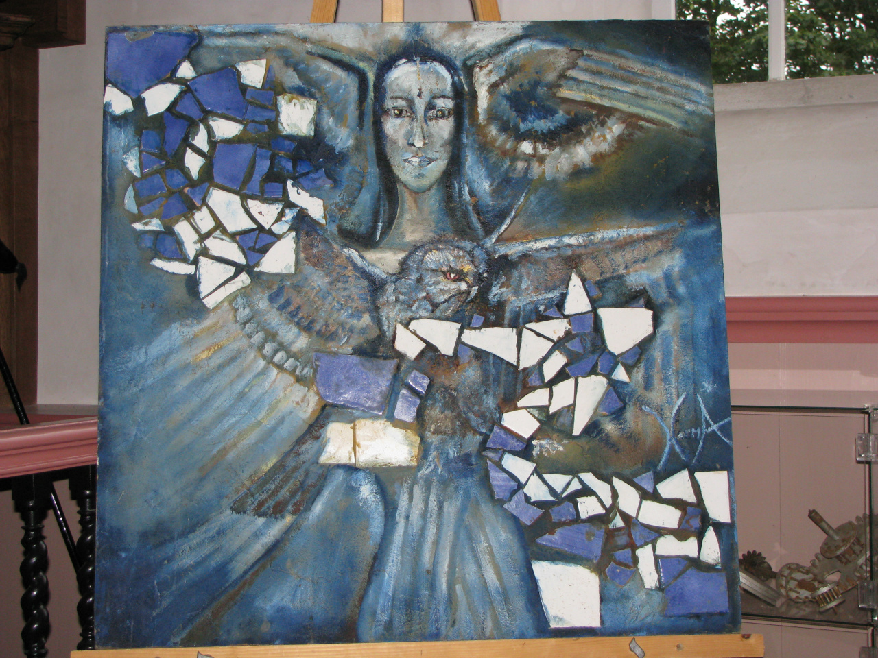 Norma's Schilderijen-5 (met mozaiek)