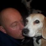 Hond - Loki met Anton