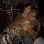 Honden - Irene met Ninja en Mannaz