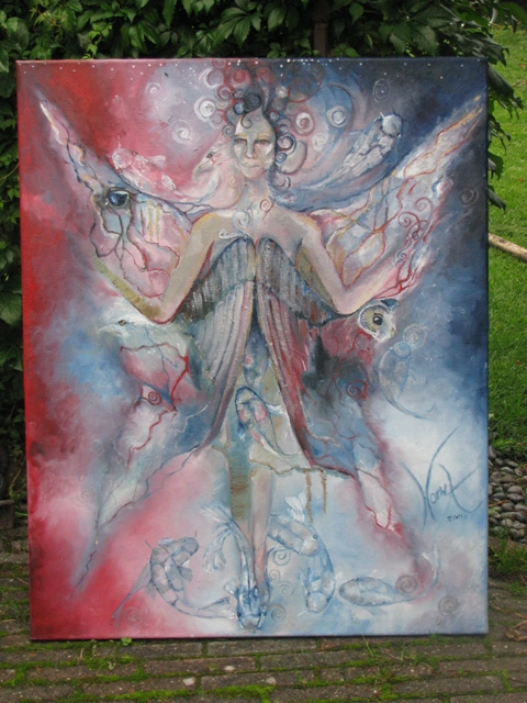 Soulpainting v.a. 750 euro