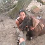 Norma met paard